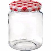 Zavařovací sklenice, 390 ml , víčko káry, pro marmelády Gastro